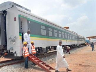 Nigerian railway coach.