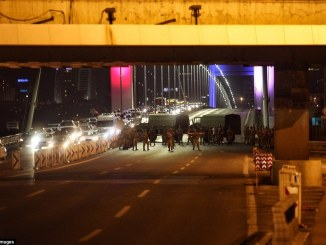 Troops have established checkpoints across strategic locations in cities around Turkey and have imposed martial law. PHOTO: GETTYIMAGES