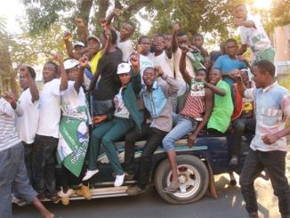 Zambia protesters