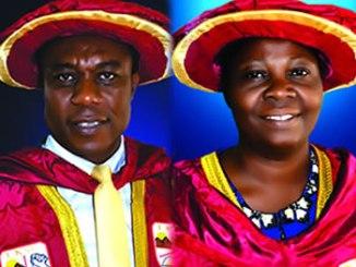 Prof. Bunmi Bolanle Ajayi and Prof. Olusola Iyiola Oluwaleye
