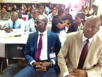 Participants at NAFDAC staff sensitisation workshop on anti-corruption in Enugu.