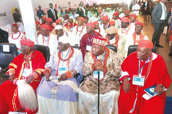 A cross section of traditional rulers.
