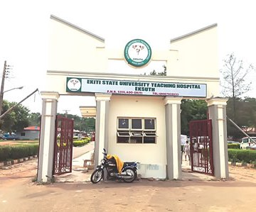 Ekiti State University Teaching Hospital, Ado Ekiti.