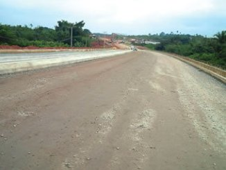 Ongoing Epe Road project at Oke-Oso