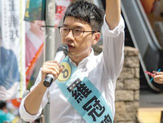 Umbrella Movement protest leader Nathan Law has been elected in Hong Kong. PHOTO: CNN