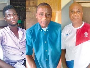 Ayobami, Prince Kayode Obadia and Prince Nana