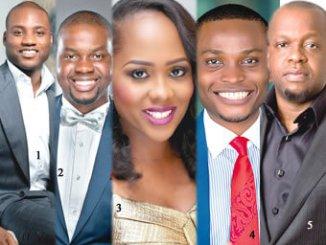 (1)Ladi Delano, CEO, Bakrie Delano Africa, (2)Adebola Williams, co-founder, Red Media (3)Uche Pedro, CEO of Bainstone Limited (4)Godwin Benson, Founder, Tuteria (5)Igho Sanomi, CEO of Taleveras Group