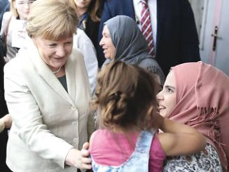 German Chancellor Angela Merkel clinched an EU deal with Turkey to stem the influx of migrants. PHOTO: AFP