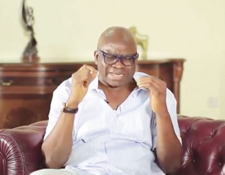 Image result for court freezes governor fayose's account