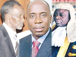 Mahmood Mohammed, CJN, Rotimi Amaechi and Justice Okoro