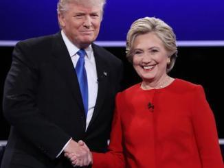 US President elect, Donald Trump and Hillary Clinton. PHOTO: EPA