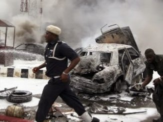 Scene of an explosion. File photo.