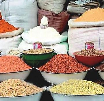 Image result for Masari distributes foodstuff
