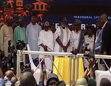 Who's who at Akeredolu's swearing-in ceremony as Ondo governor