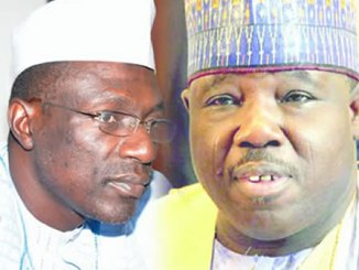 Ahmed Makarfi and Ali Modu Sheriff