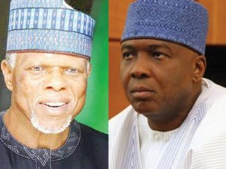 bukola saraki and customs cg hameed ali