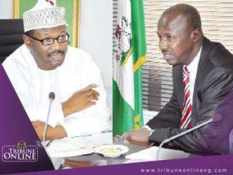 INEC Mahmood Yakubu - EFCC Ibrahim Magu