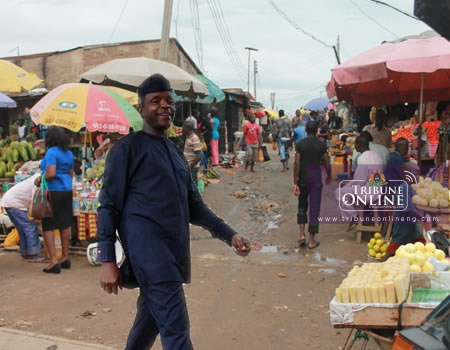 Osinbajo in surprise visit to Garki market