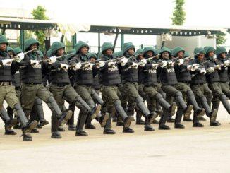 police parade nigeria