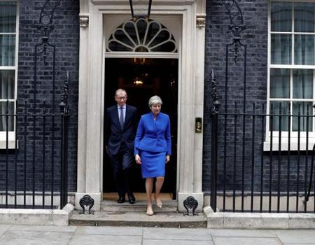 Johnson denies plot to topple May