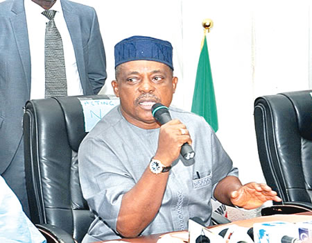 Secondus alleges 'Father Christmas' , reversal of fortune, PDP cannot be blackmailed, Nigerian democracy sitting on gunpowder, excessive borrowing, Mailafia, Secondus, PDP, PDP, NASS caucus, Secondus, Supreme Court, Imo,, South East zoning