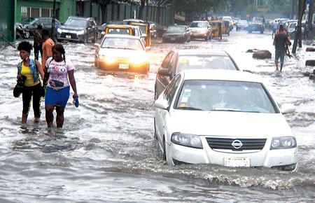 dangerous Lagos , flood, city to live, flood, mega city