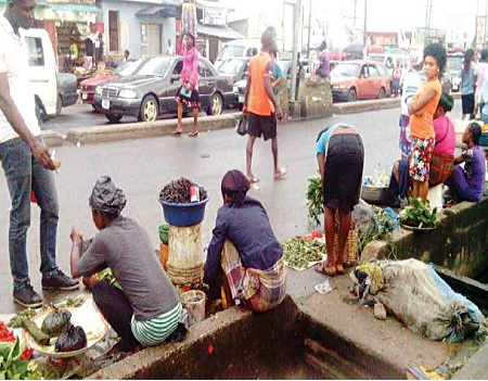 Ibadan Roadside traders