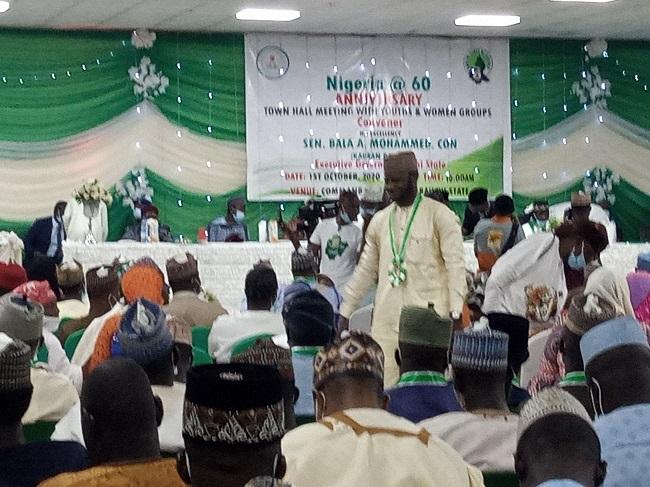 Nigeria @60: Bauchi Gov stresses need for political tolerance for nation building