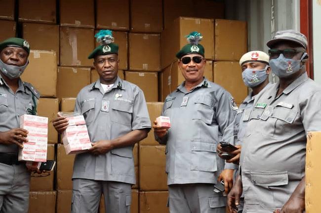 Customs intercept 554 cartons of Tramadol, others at Lagos ports