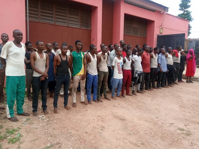 42 Northern youths, Northern youths arrested