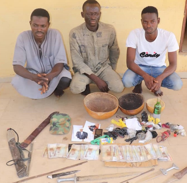 Police arrest four kidnappers