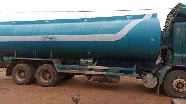 Oyo NSCDC intercepts truck