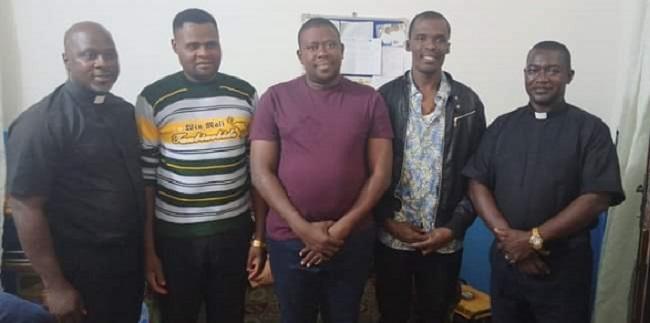 Three seminarians