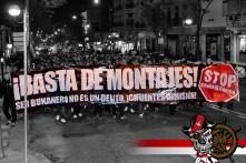 Solidárna demo v Madride