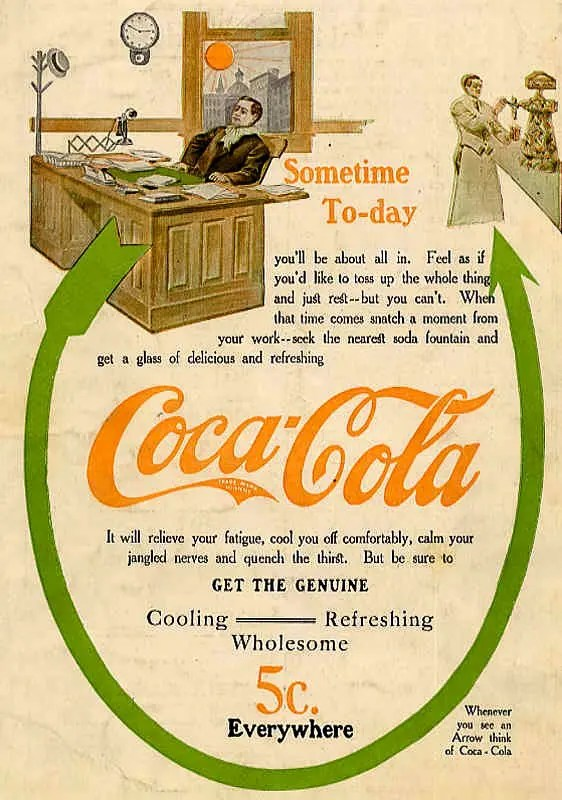 Image of 1909 Coca-Cola Advertising Poster