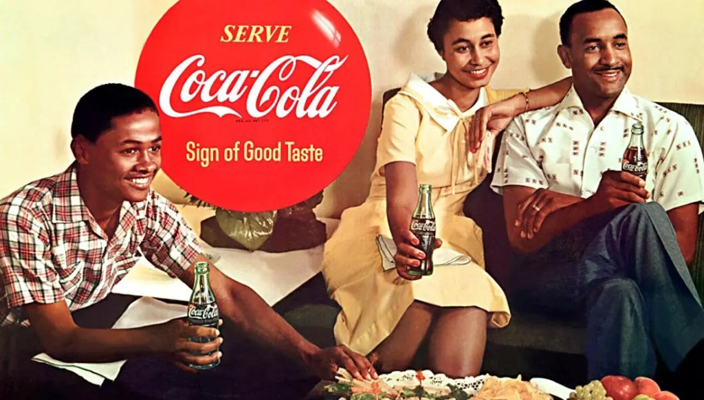 1957 - Mary Alexander - First African American Coca-Cola Advertisement