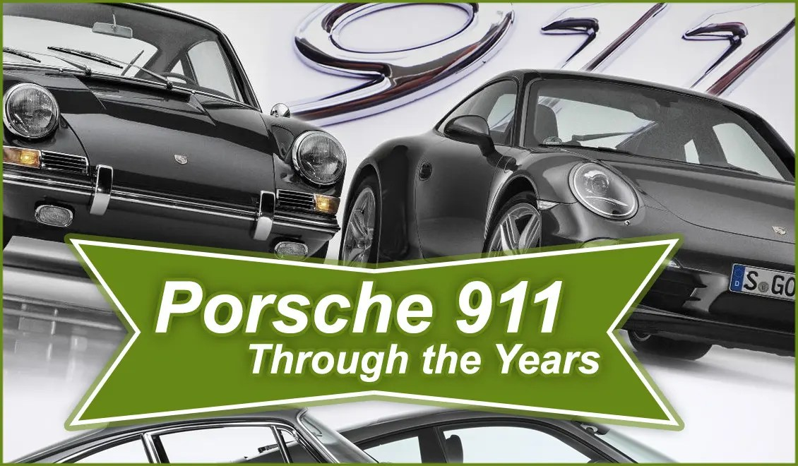 Porsche 911 – Through the Years