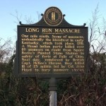 Long Run Massacre – Historical Marker