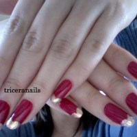 Heart Tip French Mani