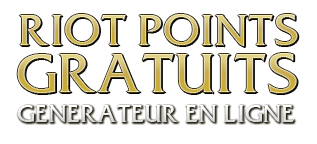 RP gratuit league of legends