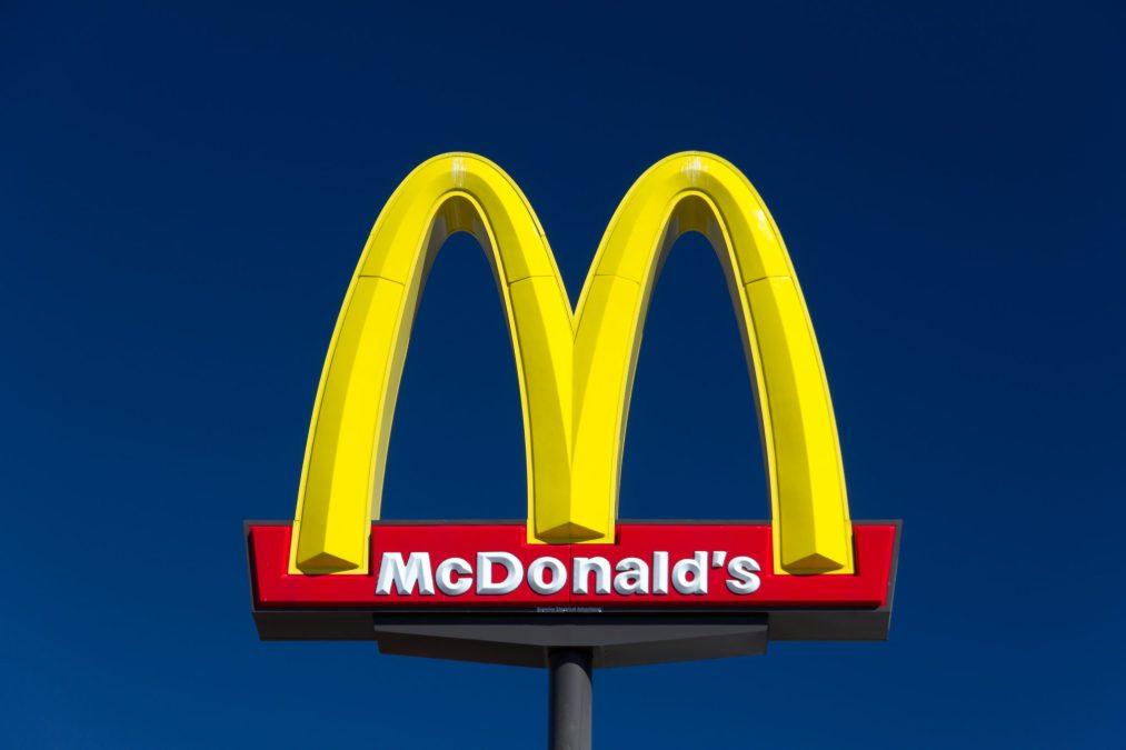 Large Mcdonald's Sign