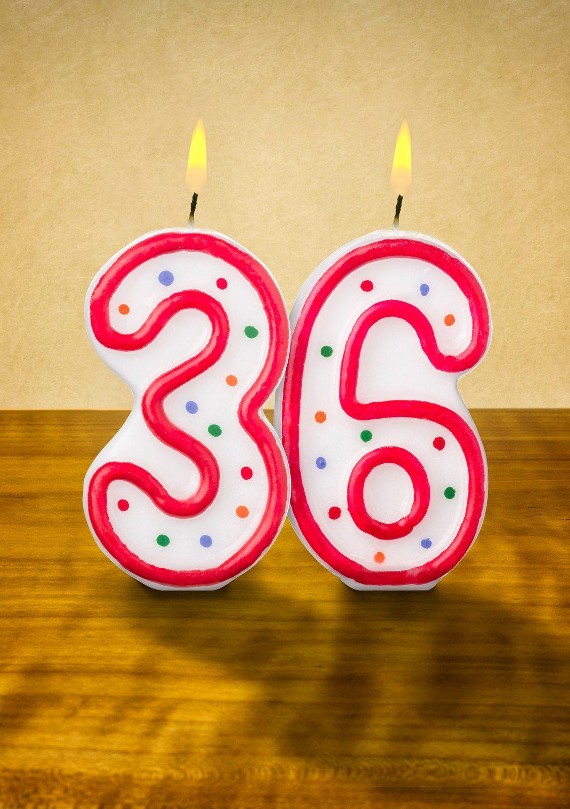 Поздравление с днем рождения 36 лет друг