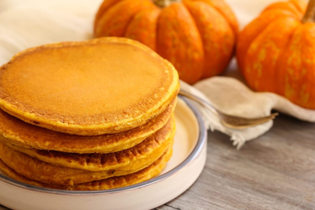 Breakfast – Homemade Pumpkin Pancakes