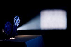 Projector Beam Of Light