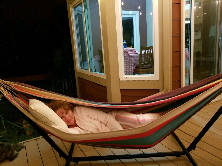 Well, I'm in love with a hammock.