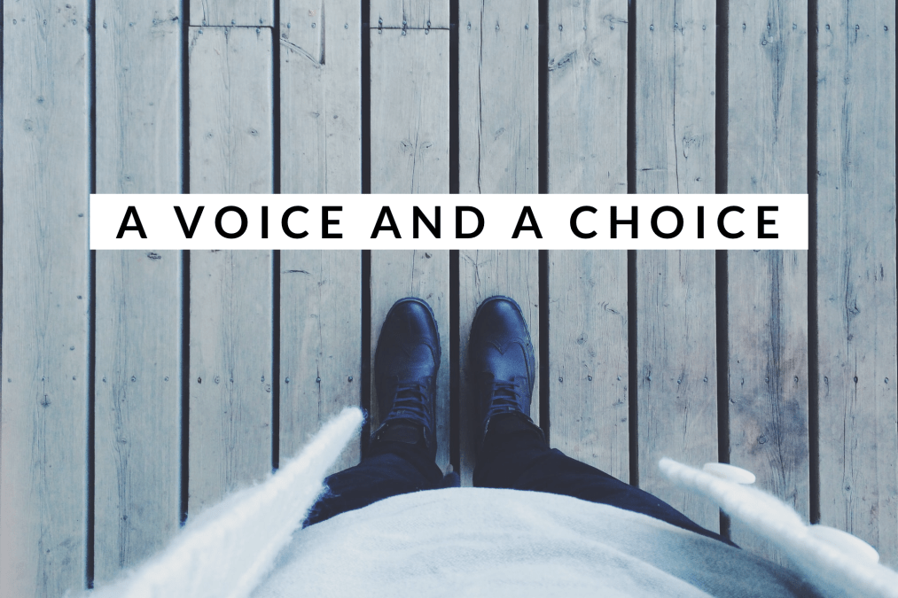 A Voice and A Choice