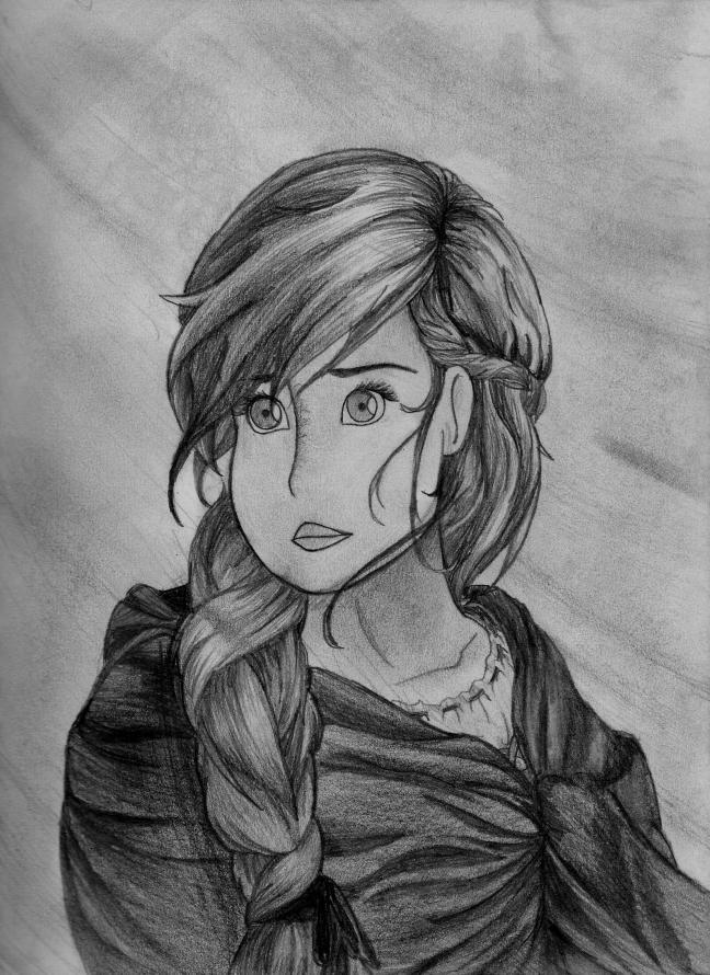 Ariana - Renna Drawing