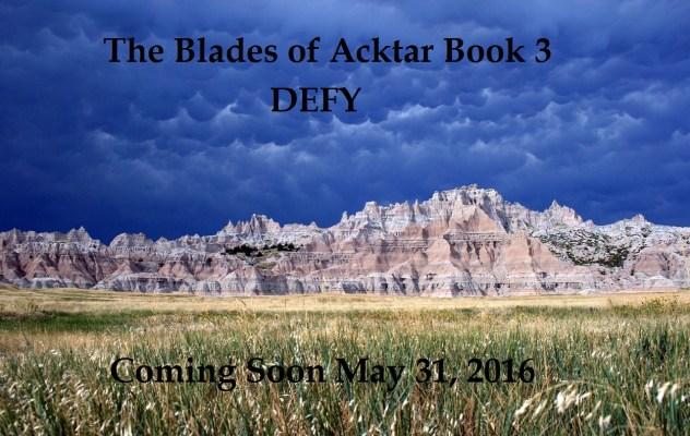 Badlands Landscape; Defy Announcement
