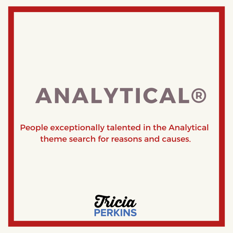 Gallup Analytical Theme Card