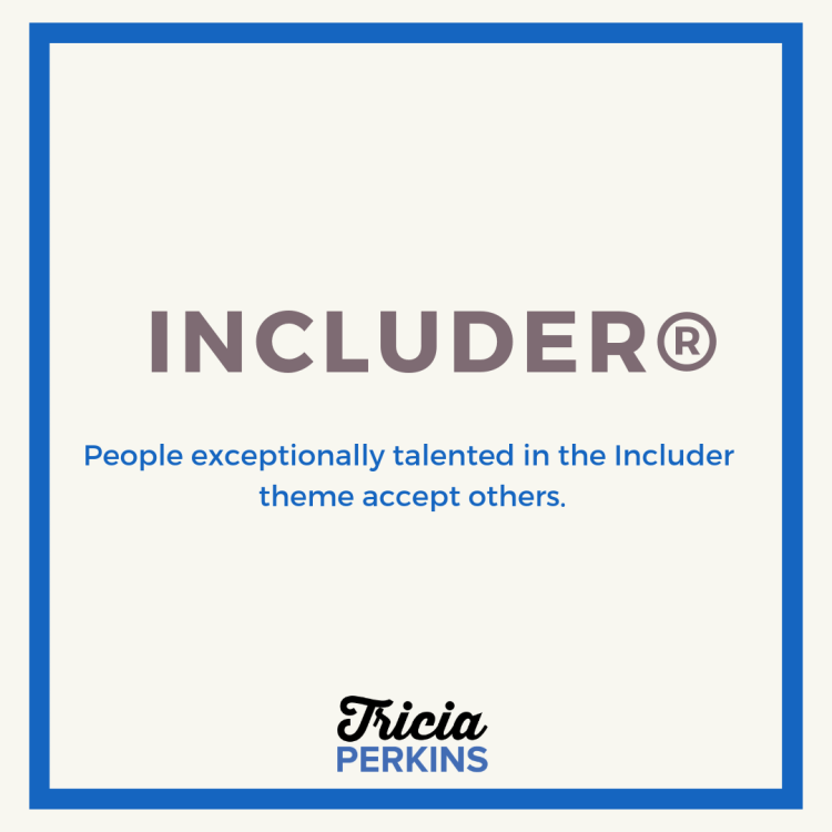 Gallup Includer Theme Card